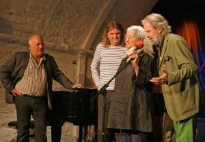 Laudator Hans Jacobshagen, Wenzel, Nora Guthrie & Michael Kleff 2013-01_© Ingo Nordhofen Kopie