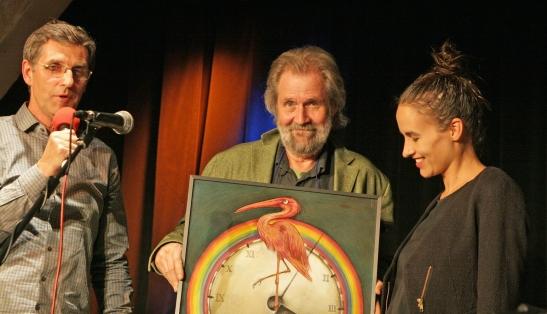 Laudator Peter Eichler, Michael Kleff & Maike Rosa Vogel 2013-01_© Ingo Nordhofen Kopie