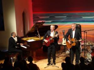 Joja Wendt, Stefan Gwildis und Rolf Claussen als Söhne Hamburgs (1)