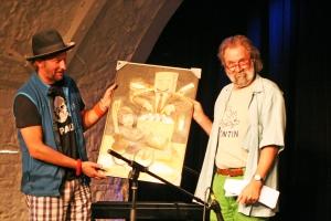 Michael Kleff & Heinz Ratz 2014-10_Ingo Nordhofen